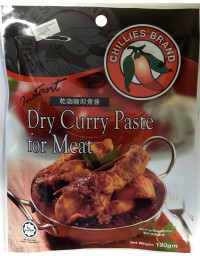 CHILLIES Instant Curry Paste for Meat