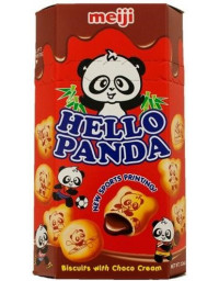 10 Packs of 50g MEIJI Hello Panda Chocolate Cookies