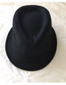 CLASSIC TRILBY HAT Fedora Felt Quality Cap
