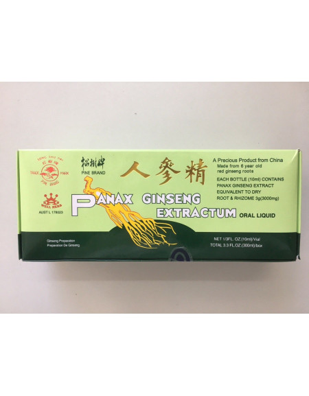 Panax Ginseng Extractum - 30 x 10 ml