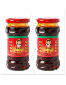 2 Bottles Lao Gan Ma Spicy Chilli
