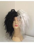 Cruella DeVille Black & white Wig