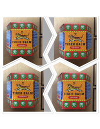 4 x Tiger Balm Ointment