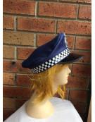 Blue Police Officer Cop Cap