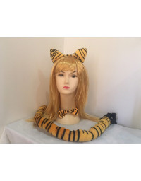Tiger Costume Set Kit
