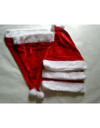 5 pcs Christmas Red Santa Hats