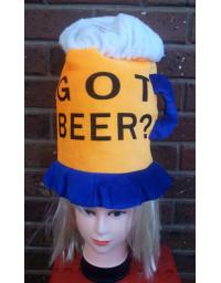 Beer Hat Drinking Mug