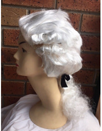 Colonial Wig Judge White