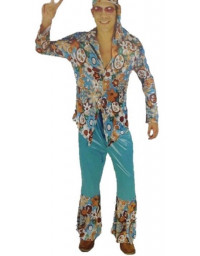 Adult Men Hippie Costume