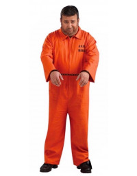 Prisoner Orange Costume